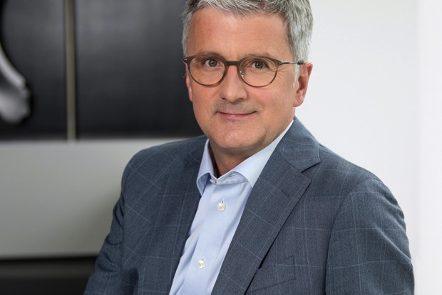 O CEO da Audi, Rupert Stadler, foi detido pelas autoridades alemã em invesigação do Dieselgate (Foto: Divulgação)