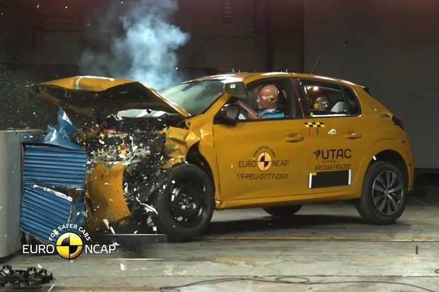 Peugeot 208 não recebeu nota máxima no Euro NCAP (Foto: Divulgação)