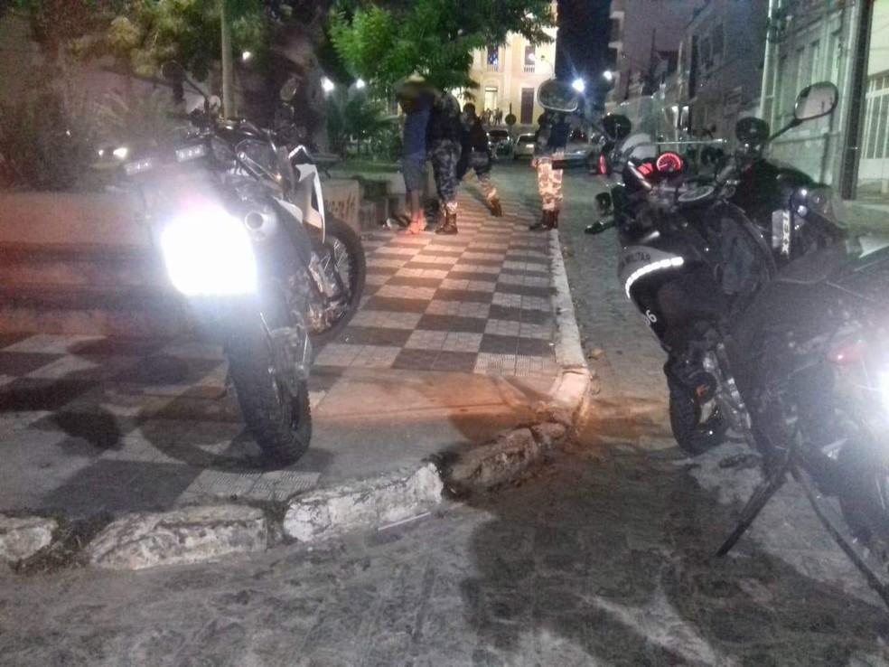 Homem é preso tentando assaltar padaria pela segunda vez em Guarabira — Foto: Polícia Militar/Divulgação