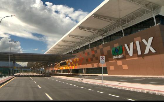Aeroporto de Vitória (Foto: Divulgação)