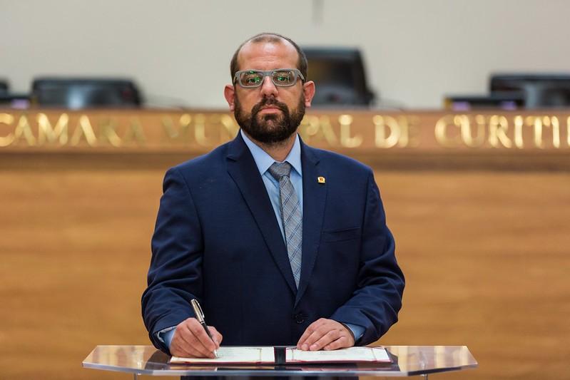 Eder Borges, vereador em Curitiba, tem mandato cassado pelo TRE-PR