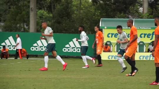 Palmeiras vence Atibaia em primeiro jogo-treino do ano; veja vídeo e escalações