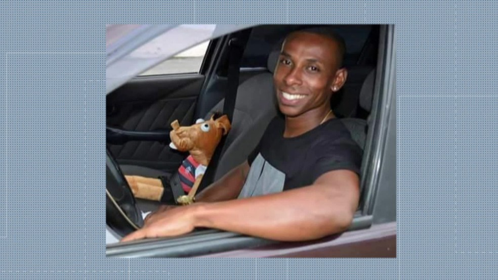Tiago Lima dos Santos era motorista de aplicativo — Foto: Reprodução/TV Globo