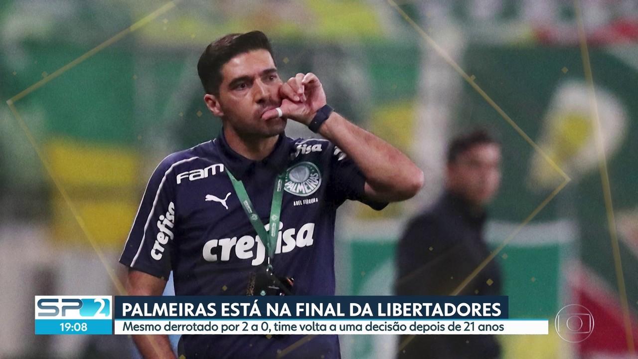 Palmeiras está na final da Libertadores depois de 21 anos