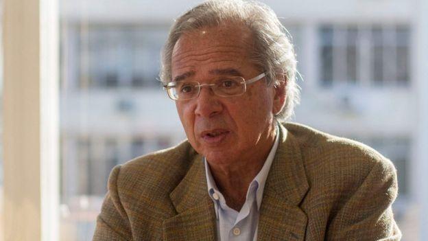 Guedes foi interlocutor de Bolsonaro junto ao mercado financeiro (Foto: AFP via BBC News)
