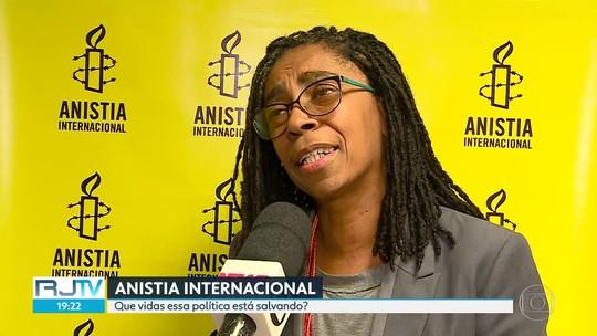 A Anistia Internacional comentou a política de combate à violência do estado