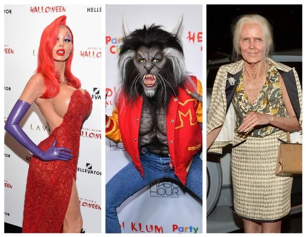 Heidi Klum ousa nas fantasias para o Halloween (Foto: Getty Images/Reprodução)
