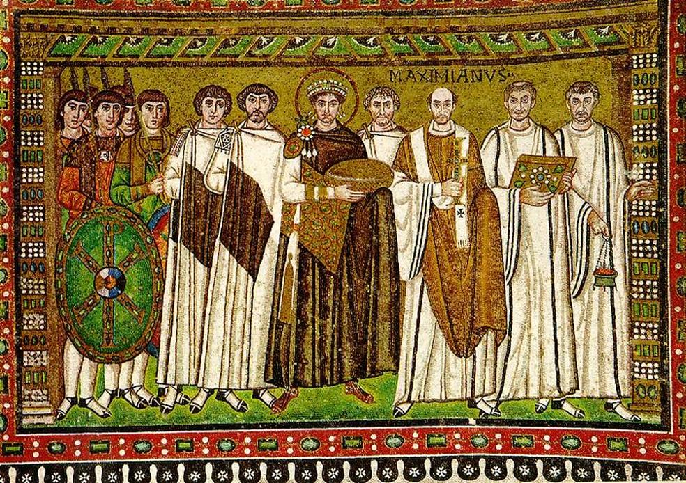 Justiniano sonhava em reconquistar as terras do Império Romano do Ocidente — Foto: Domínio Público / Wikimedia Commons