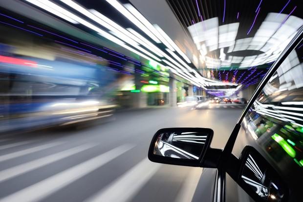 Carro em alta velocidade (Foto: Getty Images)