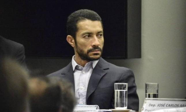 O lobista Fernando Baiano é ouvido no Conselho de Ética da Câmara dos Deputados