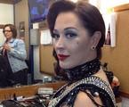 Claudia Raia caracterizada como stripper | Reprodução