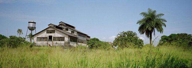 Um dos edifícios da fábrica (Foto: Getty Images/BBC)