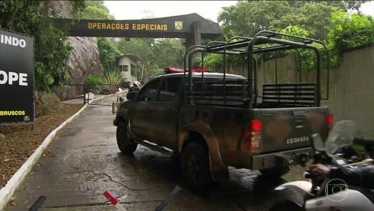 Bope é inspecionado por militares da intervenção no RJ