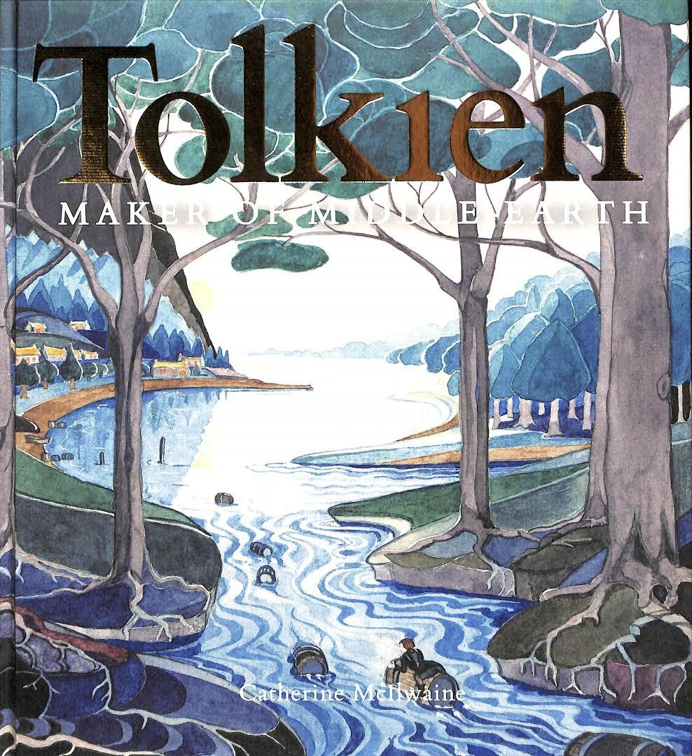 "Livro ""Tolkien: Maker of Middle-Earth"" (Foto: Bodleian Library, University of Oxford)"