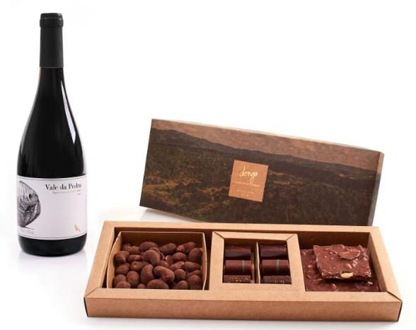 Dengo: chocolates com Syrah da Guaspari