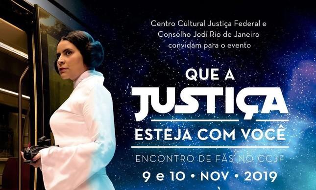 Evento sobre Star  Wars no CCJF