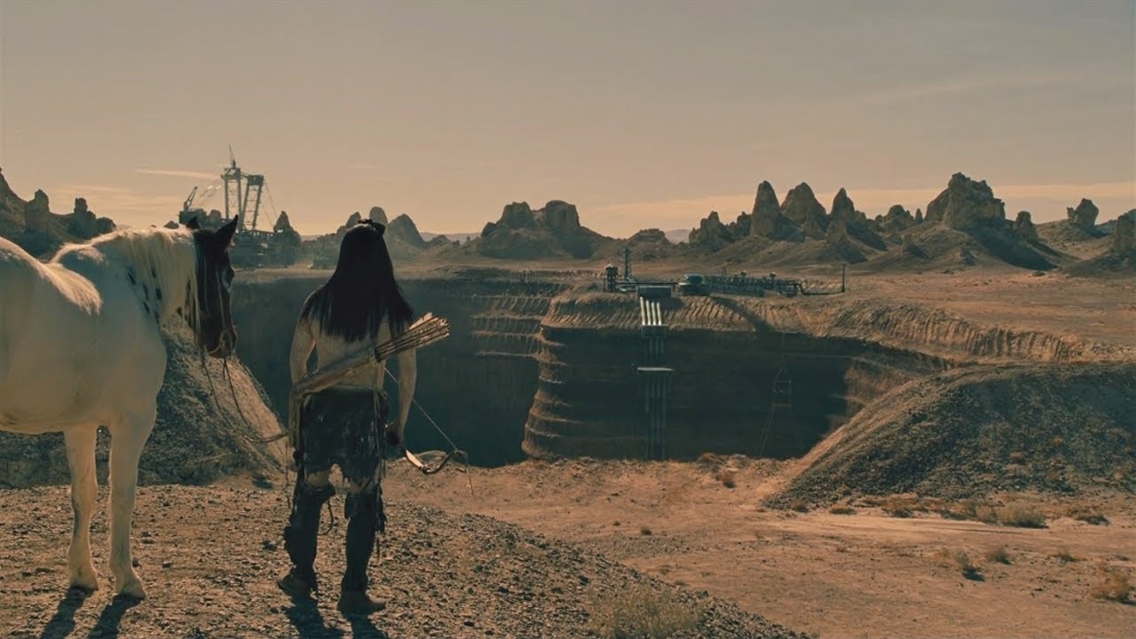 Akecheta explorando o universo de Westworld (Foto: Divulgação)