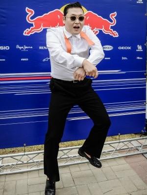 Psy Fórmula 1 GP da Coreia (Foto: AFP)