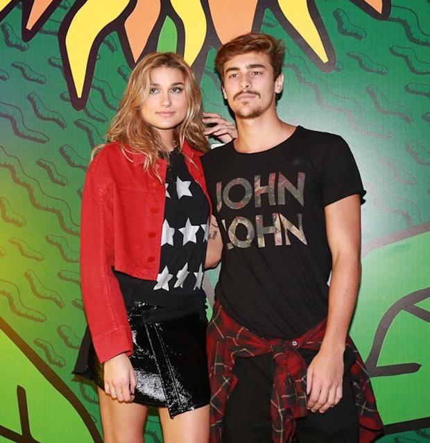 Sasha e Bruno Montaleone (Foto: Cláudio Augusto/Brazil News)