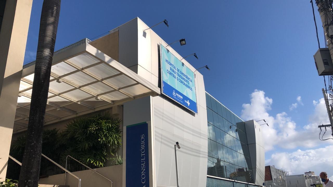 Inaugurado em Salvador mais um hospital exclusivo para pacientes com Covid-19