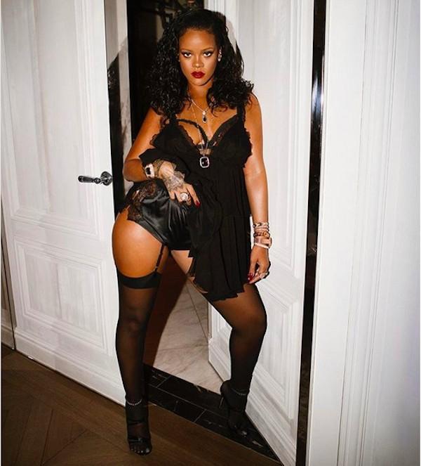 A cantora Rihanna (Foto: Instagram)