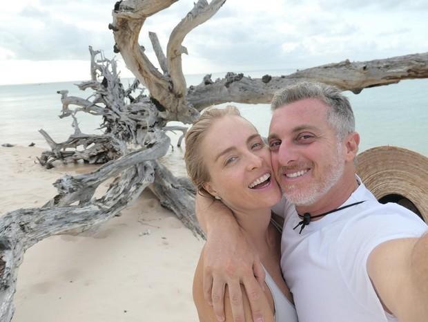 Angelica e Luciano Huck (Foto: Reprodução Instagram)