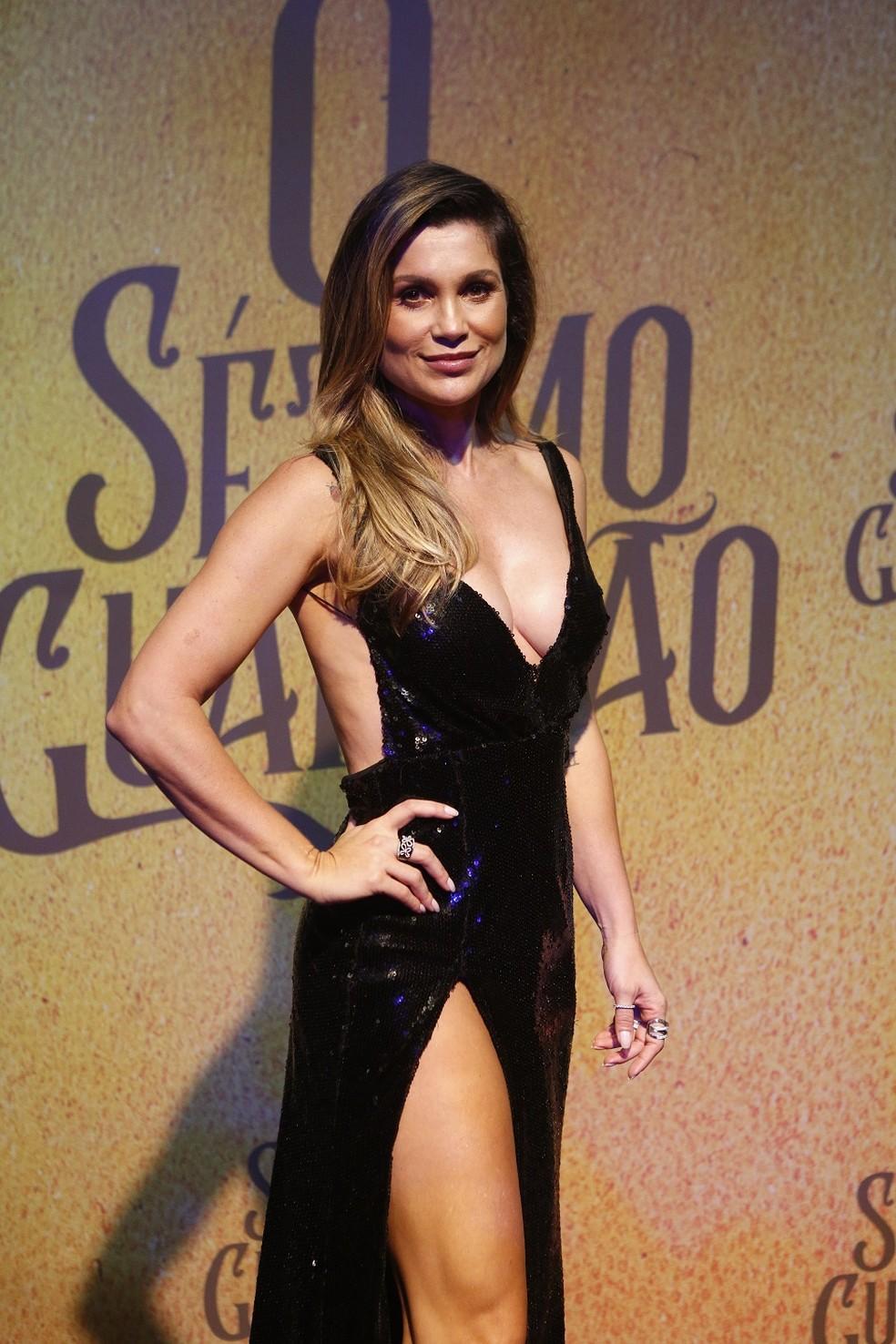 Flávia Alessandra é Rita de Cássia em 'O Sétimo Guardião' — Foto: Fabiano Battaglin/Gshow