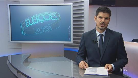 Veja a agenda dos candidatos ao governo de SC nesta sexta-feira (21)