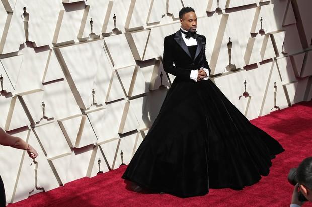Billy Porter na cerimônia do Oscar 2019 (Foto: Getty Images)