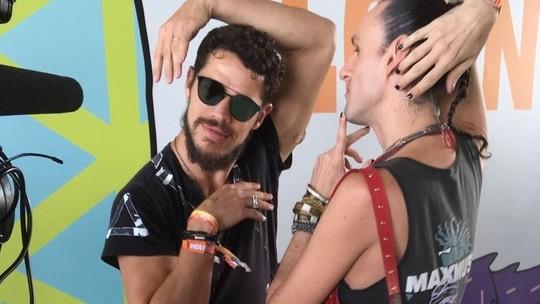 José Loreto inveja sombra de glitter de Dudu Bertholini