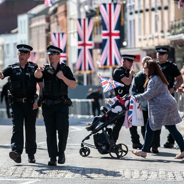 Londres se prepara para o casamento real (Foto: Getty Images)