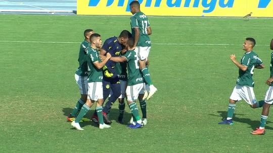 Palmeiras x Internacional - Copa RS sub-20 2018 - globoesporte.com