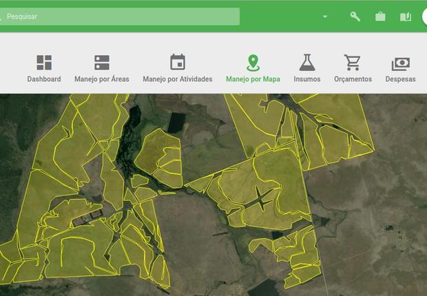 Com monitoramento aéreo, fica mais fácil saber como aproveitar da melhor forma toda a propriedade rural (Foto: Facebook/Aegro)