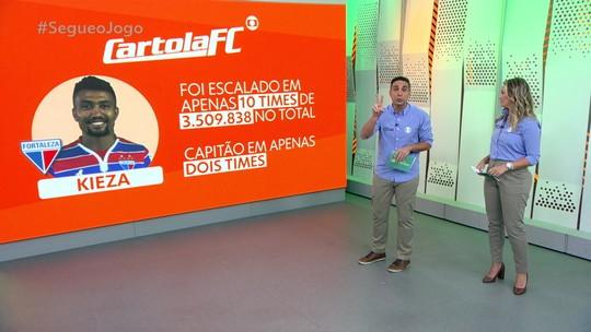 Villani promete camisas do Fortaleza aos dois cartoleiros que escalaram Kieza como capitão