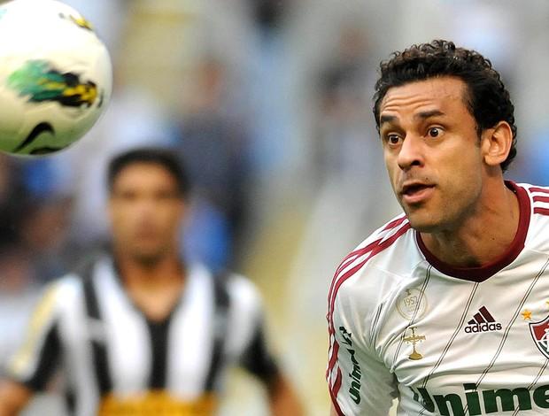 Fred, Botafogo x Fluminense (Foto: Dhavid Normando / Photocamera)