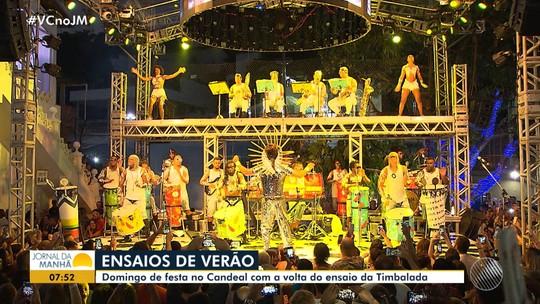 De volta ao Candeal: Timbalada inicia temporada de ensaios de verão em Salvador