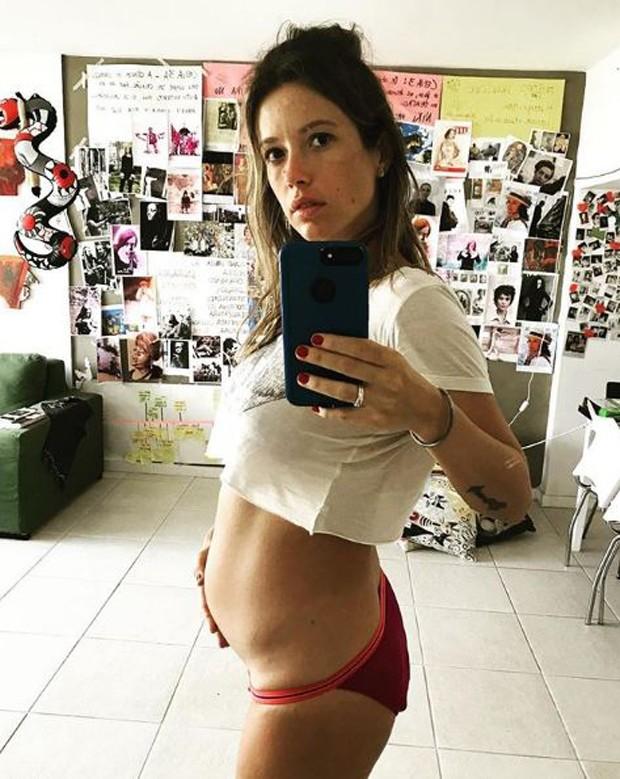 Juliana Didone está esperando uma menina, que se chamará Liz (Foto: Reprodução/Instagram)