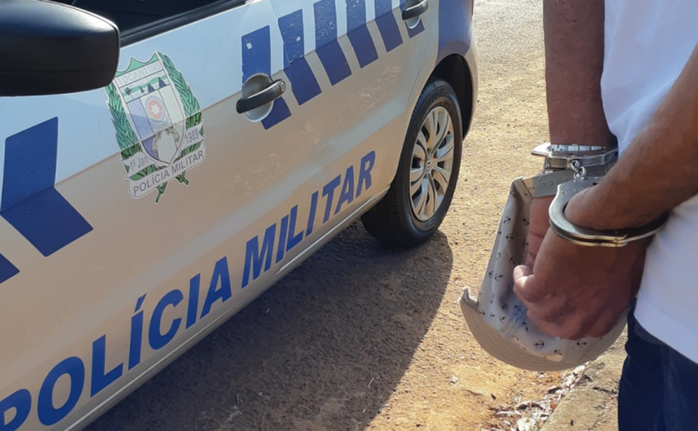 Homem confessou à polícia que rompeu tornozeleira eletrônica— Foto: Divulgação/Polícia Militar