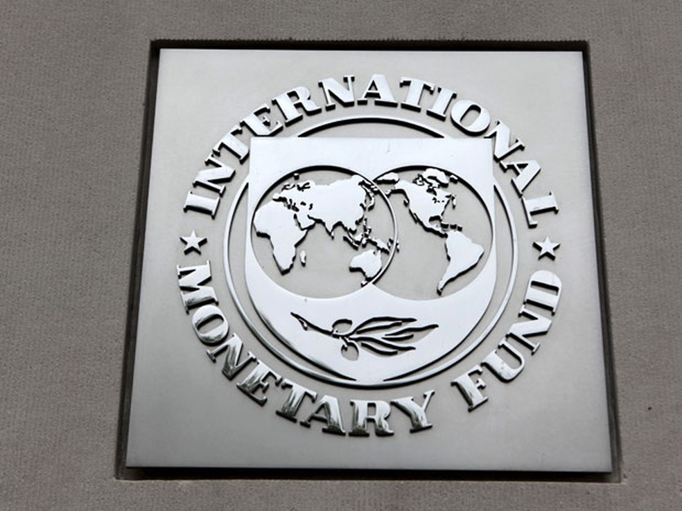 Fachada da sede do FMI em Washington (Foto: Reuters)