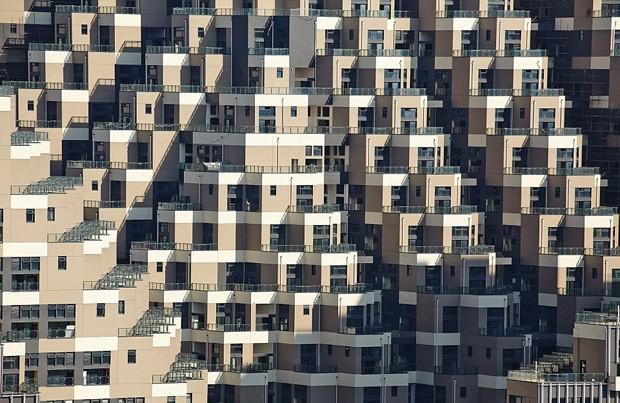 """Edifício na China impressiona pelo """"formato de pirâmide"""" (Foto: Divulgação / Masters 'Architectural Office)"""