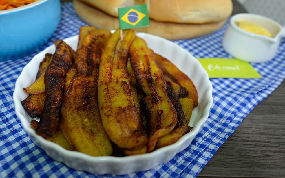 Preço do quilo da banana de fritar em Guajará-Mirim custa R$ 1,90 (Foto: Jamile Alves/G1 AM)