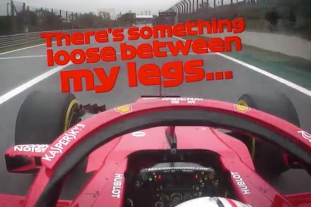 Vettel garante a melhor mensagem de rádio da temporada (Foto: Reprodução)