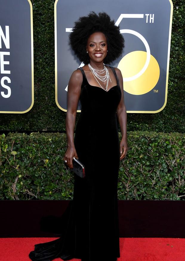 Viola Davis veste Brandon Maxwell (Foto: Getty Images)