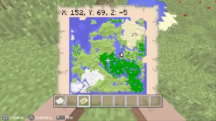 mapa do minecraft Veja como fazer um mapa em Minecraft para se guiar em suas  mapa do minecraft