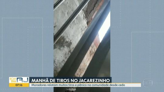 Jacarezinho tem mais um dia de tiroteio