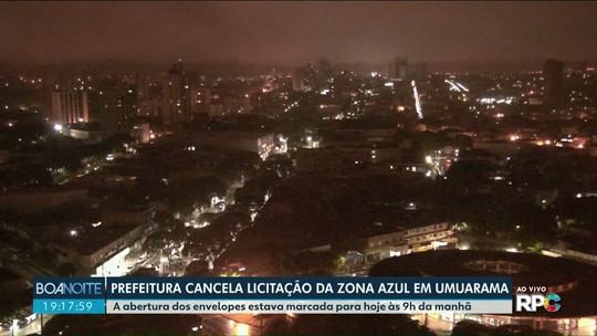Prefeitura de Umuarama cancela licitação da Zona Azul