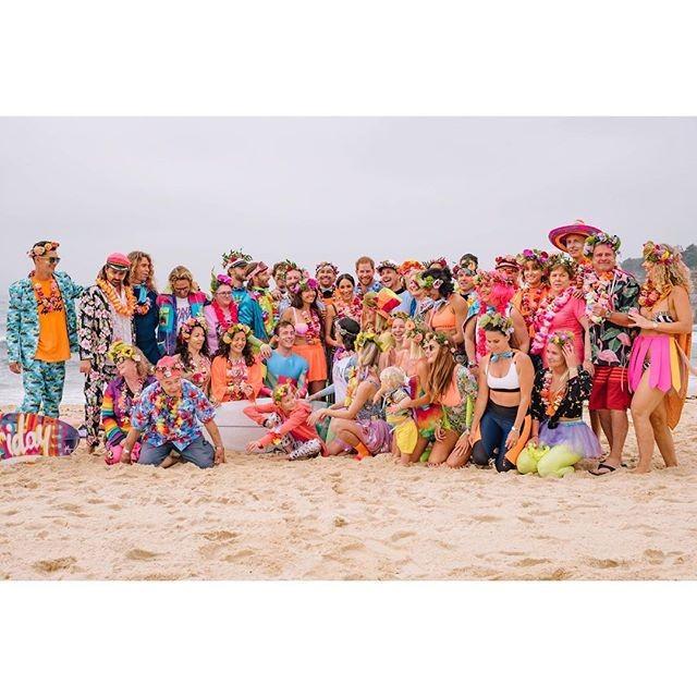 Meghan em Harry em Bondi Beach (Foto: Reprodução/Instagram)