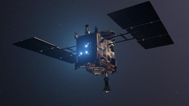 'Bola de fogo': cápsula com amostra de asteroide lançada na Terra é localizada na Austrália