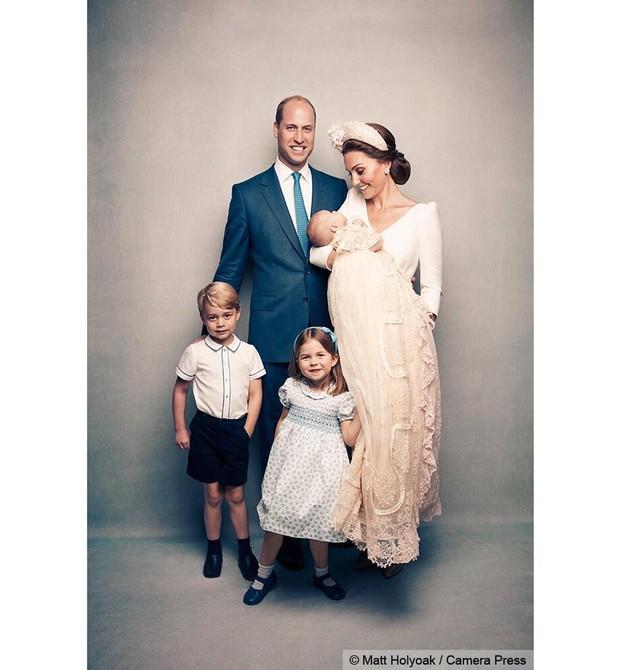 William, Kate, George, Charlotte e Louis (Foto: Reprodução Instagram)