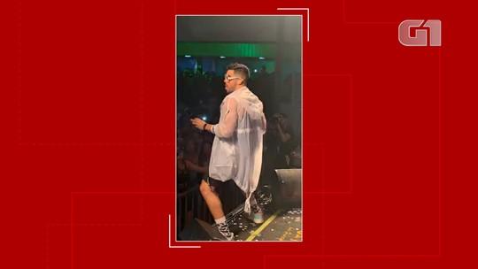 Último show de Gabriel Diniz foi na cidade de Feira de Santana, na BA; veja fotos e vídeos